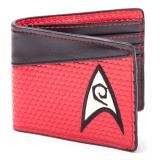 Peňaženka Star Trek Wallet Bifold Engineering Logo Red