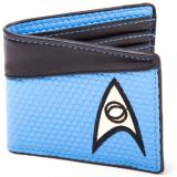 Peňaženka Star Trek Wallet Bifold Science Logo Blue