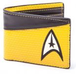 Peňaženka Star Trek Wallet Bifold Command Logo Yellow