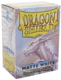 Obal Dragon Shield 100ks MATTE – biely
