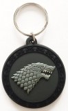 Kľúčenka Game of Thrones Rubber Keychain Stark 6 cm