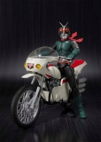 Kamen Rider with Vehicle Masked Rider 2 & Remodeled Cyclone 14 cm