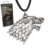 Prívesok Game of Thrones Pendant Stark Sigil Costume