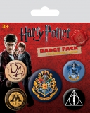 Odznak Harry Potter Pin Badges 5-Pack Hogwarts