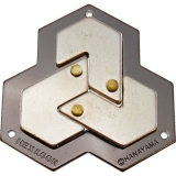Hlavolam - Hanayama Gold: Hexagon lvl 4