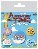 Odznak Adventure Time Pin Badges 5-Pack #1