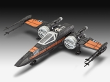 Model Star Wars Episode VII Model Kit with Sound Poe's X-Wing Fighter 22 cm