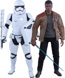 Star Wars Ep. VII 2-Pack 1/6 Finn & First Order Riot Control Stormtrooper