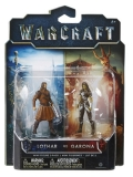 Warcraft The Movie: 2 Mini Figures - Lothar vs Garona