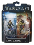 Warcraft The Movie: 2 Mini Figures - Lothar vs Horde Warrior