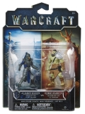 Warcraft The Movie: 2 Mini Figures - Alliance Soldier vs Horde Warrior