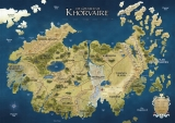 Dungeons & Dragons: Campaign Mat - Eberron – Continent of Khorvaire