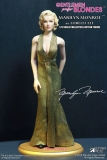 Gentlemen Prefer Blondes Action Figure 1/6 Marilyn Monroe Gold Dress 29 cm