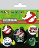 Odznak Ghostbusters Pin Badges 5-Pack Who You Gonna Call