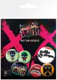 Odznak Suicide Squad Pin Badges 6-Pack Lil Monster