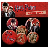 Odznak Harry Potter Pin Badges 6-Pack Icons