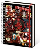 Zápisník - Marvel Comics Notebook A5 Deadpool
