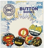 Odznak DC Comics Pin Badges 6-Pack Retro
