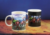 Šálka Marvel Comics Heat Change Mug Avengers