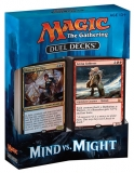 Magic the Gathering TCG: Duel Decks Mind v. Might