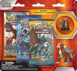 Pokémon TCG: 3 Pack Blister with Collector's Pin Entei (červený)