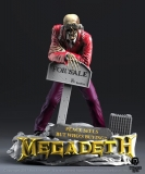 "Megadeth Rock Iconz Statue ""Peace Sells"" Vic Rattlehead 23 cm"
