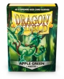 Obal Dragon Shield 60ks MATTE - Apple Green