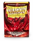 Obal Dragon Shield 60ks MATTE - Crimson