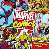 Kalendár - Marvel Comics Classic Calendar 2018 English Version