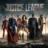 Kalendár - Justice League Calendar 2018 English Version