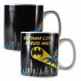 Šálka Batman Heat Change Mug Gotham Needs Me