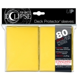 Obal UltraPRO STANDARD 80ks PRO MATTE Eclipse - Yellow