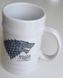 Pohár Game of Thrones Stein Stark White