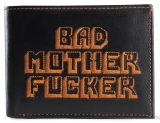Peňaženka Bad Mother Fucker Wallet Orange Large Logo / vyšívané logo