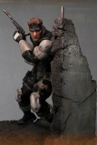 18/10 Metal Gear Solid Statue Solid Snake 44 cm