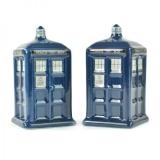 Soľnička a korenička - Doctor Who Salt and Pepper Pots Tardis