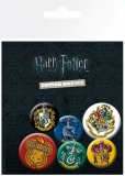 Odznak Harry Potter Pin Badges 6-Pack Crests