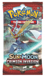 Pokémon TCG: Sun & Moon 4 Crimson Invasion - BOOSTER PACK