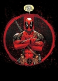 Marvel Comics Metal Poster Deadpool Merc with a Mouth Evening Plans 10 x 14 cm