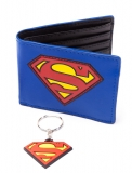 Peňaženka Superman Gift Set Wallet & Keychain