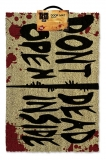 Rohožka - Walking Dead Doormat Don't Open Dead Inside 40 x 60 cm
