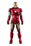 18/12 Iron Man 2 Diecast Movie Masterpiece Action Figure 1/6 Iron Man Mark IV
