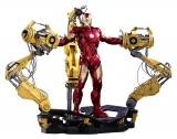 18/12 Iron Man 2 Movie Masterpiece 1/6 Iron Man Mark IV & Suit-up Gantry 32 cm