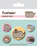 Odznak Pusheen Pin Badges 5-Pack Fancy