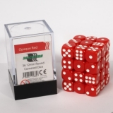 Kocka Set (36) - BF 12mm D6 - Opaque Red