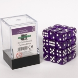 Kocka Set (36) - BF 12mm D6 - Transparent Dark Purple