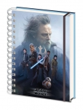 Zápisník - Star Wars Episode VIII Notebook A5 Cast