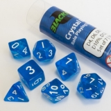 Kocka Set (7) - Crystal Blue