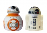 Soľnička a korenička - Star Wars Episode VII Salt and Pepper Pots BB-8 & R2-D2