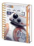 Zápisník - Star Wars Episode VIII Wiro Notebook A5 BB-8